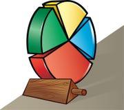 Graphique circulaire Illustration de Vecteur