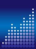 Graphique d'étoile Photographie stock