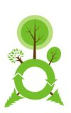 Graphique d'environnement global Photos libres de droits
