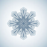 Graphique d'icône de flocon de neige Vecteurs de flocon de neige Images stock