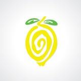 Graphique de citron illustration de vecteur