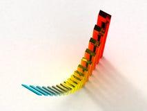 Graphique de couleur Photo stock