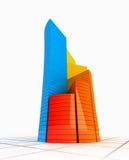 Graphique de couleur Image stock