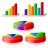 Graphique de gestion illustration stock