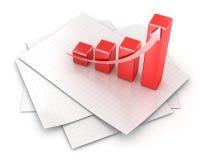 Graphique de gestion Images stock