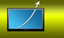 graphique de gestion Image libre de droits