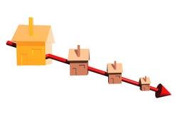 Graphique de maisons Illustration de Vecteur
