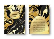 Graphique de marbre de carte illustration stock