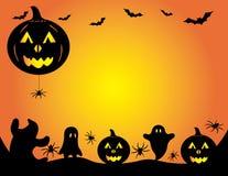 Graphique de potiron de Halloween Photographie stock libre de droits