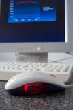 Graphique de souris Photo stock