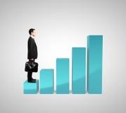 Graphique de Succes Images stock