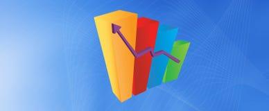 Graphique de sucrerie Images stock