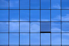Graphique do azul Fotografia de Stock Royalty Free