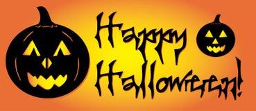 Graphique heureux de potiron de Halloween Photo stock