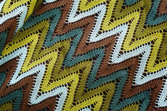 Graphique tricoté Images stock