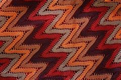 Graphique tricoté par rayures Photographie stock libre de droits