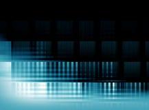 Graphiques bleus abstraits de fond pour la conception Images stock