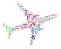 Graphiques d'information-texte de voyage illustration stock
