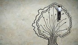 Graphiques de dessin d'homme d'affaires Photographie stock libre de droits