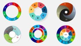 Graphiques de données de base Photo libre de droits