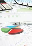 Graphiques de gestion Image libre de droits
