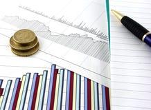 Graphiques de gestion 2 Image stock