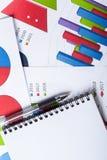 Graphiques de gestion photos libres de droits