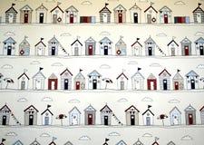 Graphiques de hutte de plage Image stock