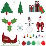Graphiques de Noël Image stock