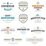 Graphiques de signe d'affaires Image stock
