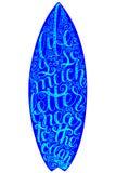 Graphiques et affiche surfants pour le web design ou la copie Insigne de typographie de ressac Joint de planche de surf, éléments Photo libre de droits