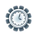 Graphisme créateur d'horloge illustration libre de droits