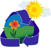 Graphisme d'écologie Images stock