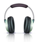 Graphisme d'écouteurs Images libres de droits