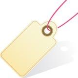 Graphisme d'étiquette de cadeau Image libre de droits