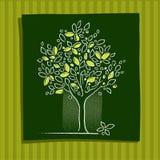 Graphisme d'arbre Illustration Libre de Droits