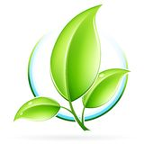 Graphisme d'ECO Images stock