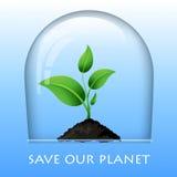 Graphisme d'Eco Photographie stock libre de droits