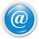 Graphisme d'email Images stock