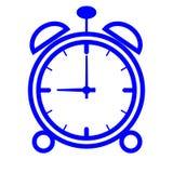 Graphisme d'horloge d'alarme (vecteur) illustration de vecteur