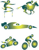 Graphisme d'illustration Photo stock
