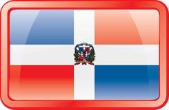 Graphisme d'indicateur de la république dominicaine illustration stock
