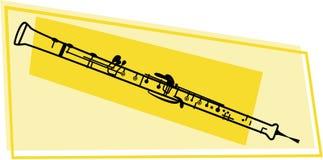 Graphisme d'Oboe Photographie stock libre de droits