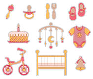 Graphisme de bébé Photos stock