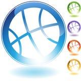 Graphisme de basket-ball Images stock