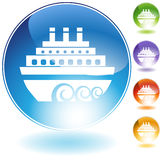 Graphisme de bateau Photographie stock libre de droits