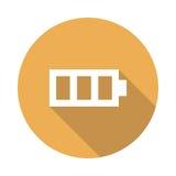 Graphisme de batterie Photos stock