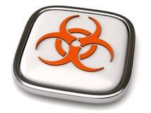 Graphisme de Biohazard illustration libre de droits