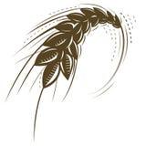 Graphisme de blé Image libre de droits