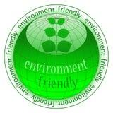 Graphisme de bouton d'Eco Photographie stock